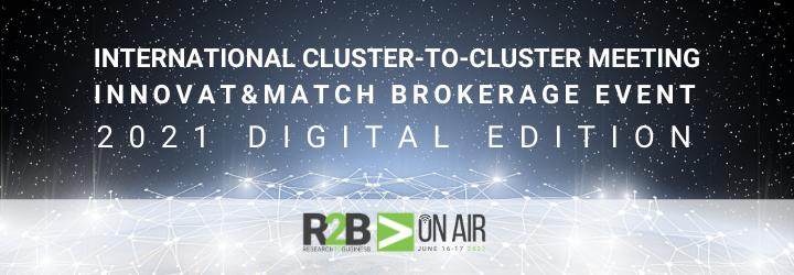 ATLANTICA DIGITAL  il 15-17 giugno parteciperà, all' International Cluster-to-Cluster Meeting & Innovat&Match Brokerage Event